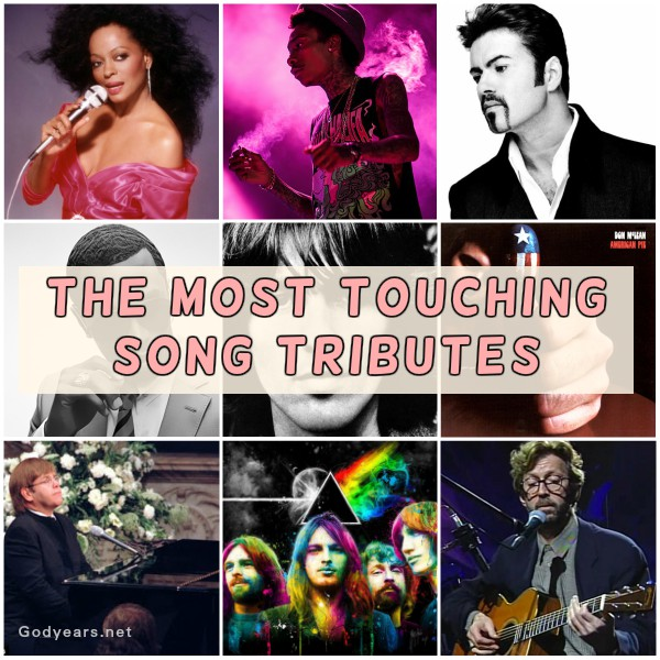 The Most Touching Song Tributes of all Time #SuperBloggerChallenge2018
