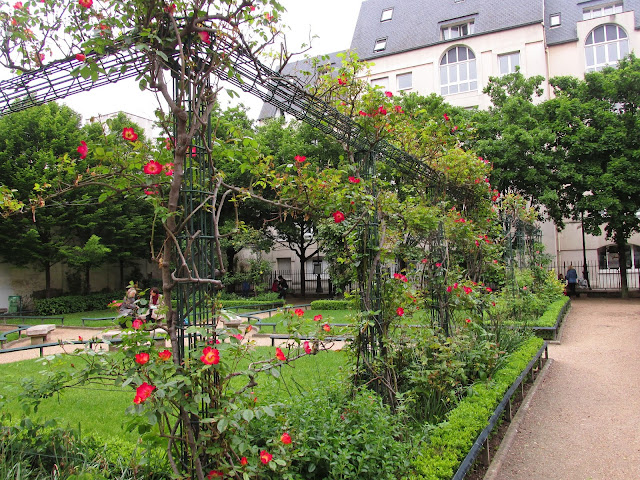 Jardin Saint-Gilles-Grand Veneur Paris