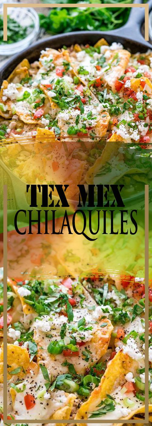 TEX MEX CHILAQUILES RECIPE