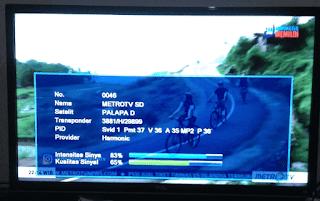 Metro tv mpeg2 sd terbaru