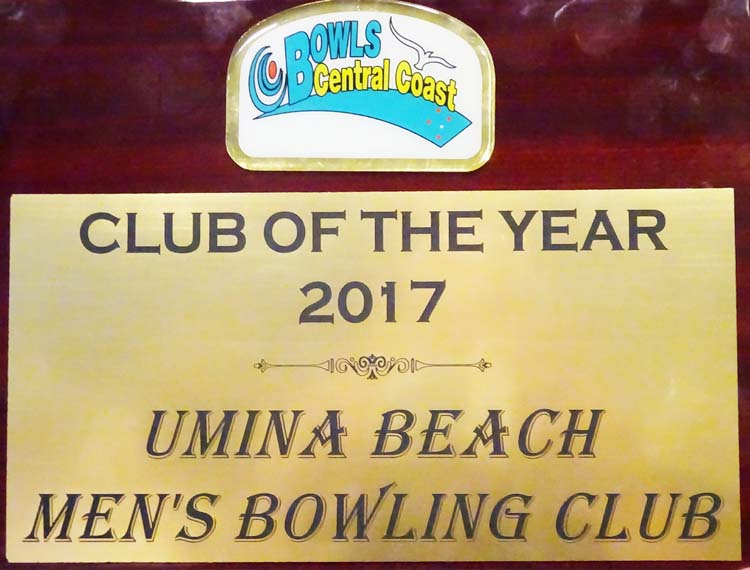 BCC Club of the Year 2017