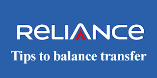 transfer balance from Reliance to Reliance