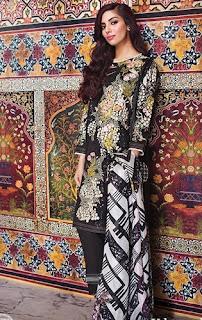 Khaadi Lawn Eid Dresses 2016 Catalog