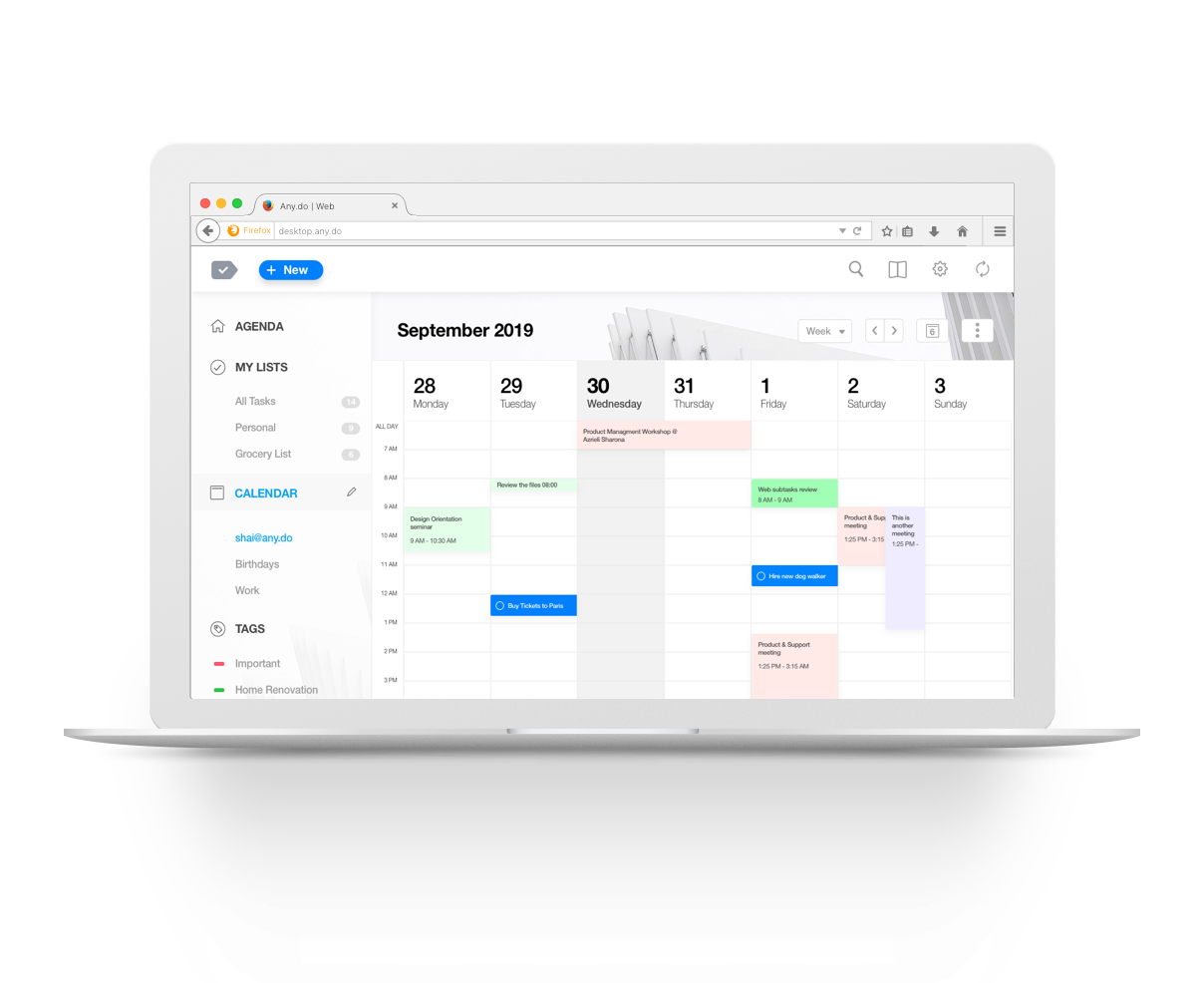 app para se organizar