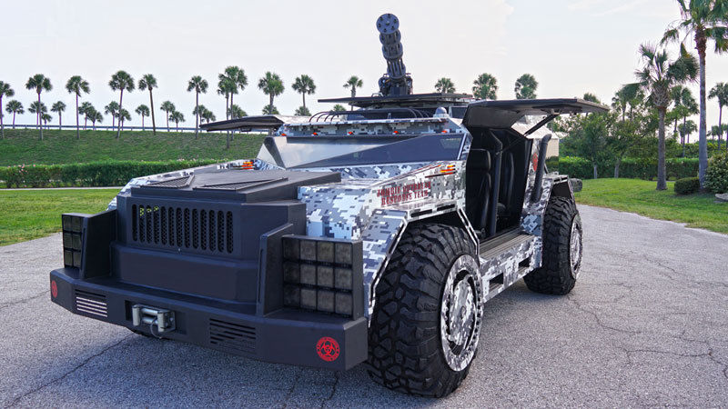 Straight Outta Florida: The Boss Hummer H1, Now ing Zombie ...