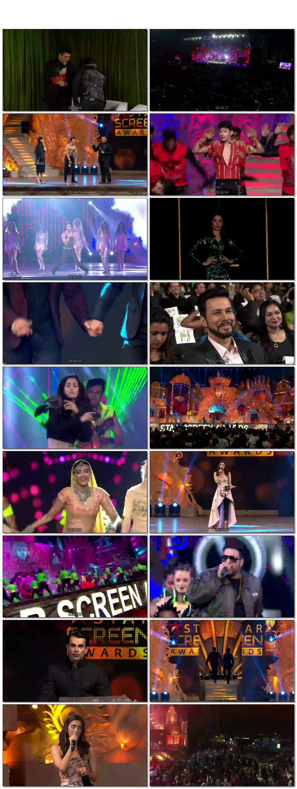 Screen Shot Star Screen Awards 2016 Full Show Download Free HDTV 720P 600MB HD