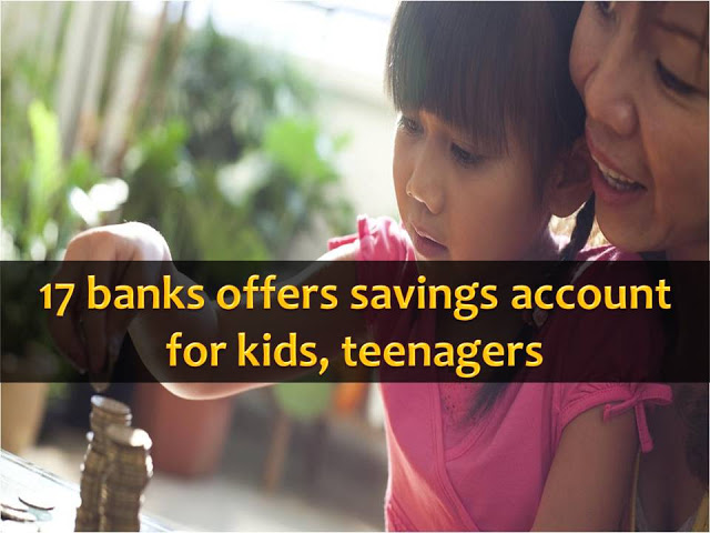 Frugality is a value that is needed to be taught to children today. Just like saving money in a piggy bank.  But to make kids saving safe, why not put it in a savings account in a bank under their names?  Yes, this is now possible since more banks now offer a Kiddie Accounts. This program will be expanded to cover teenagers as well.