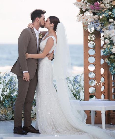 Coleen Garcia, Billy Crawford wedding at Balesin Island