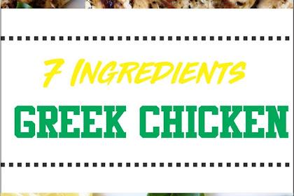 7 Ingredients Greek Chicken - Paleo