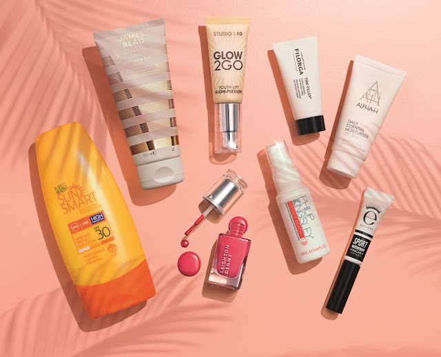 marks and spencer box of summer beauty box gift