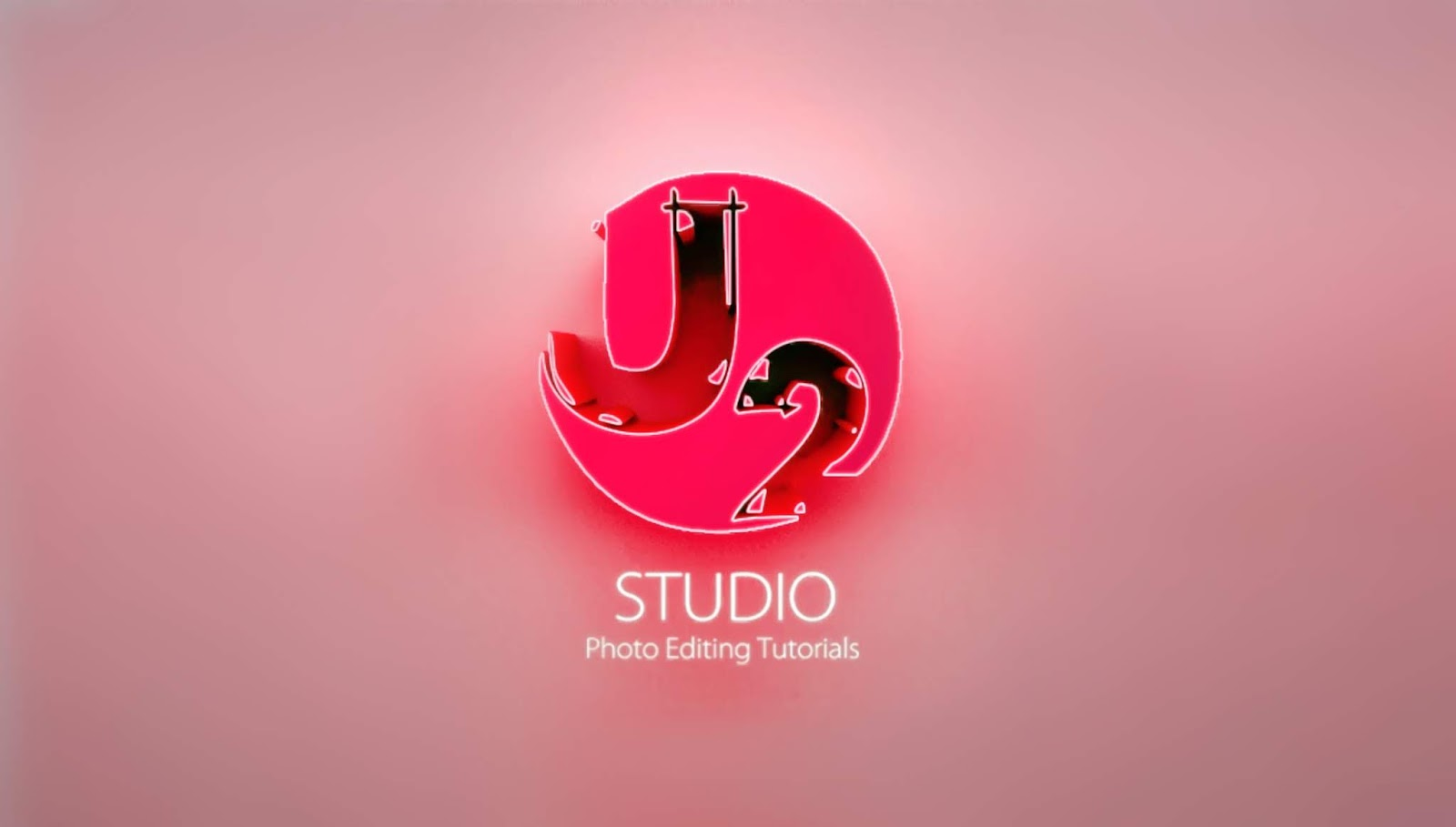 Cc Tutorial U2 Studio How To Make 3d Logo Photoshop Cc Tutorial By U2 Studio
