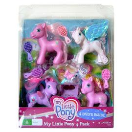 My Little Pony Windy Wisp Pony Packs 4-pack G3 Pony