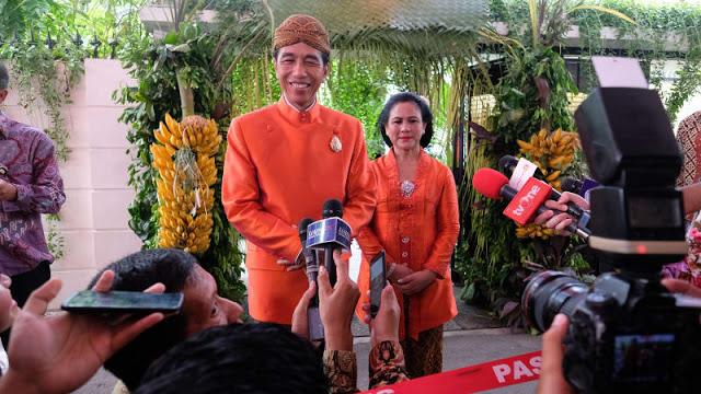 Jokowi Tanggapi Kritikan Fahri Soal Pesta Pernikahan
