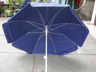 Darmatek Jual Payung Survey PVC Cover Blue