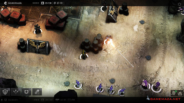 Warhammer 40000 Deathwatch Gameplay Screenshot 1