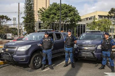 Guarda Municipal de Curitiba (PR) reforça o policiamento