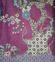 Kain Batik Prima 4855 Ungu