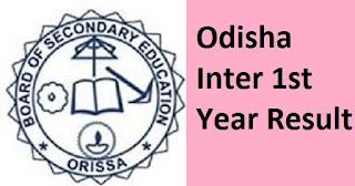 Odisha Inter 1st Year Result 2017