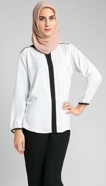 Gambar Baju Muslim Perempuan Model Sekarang