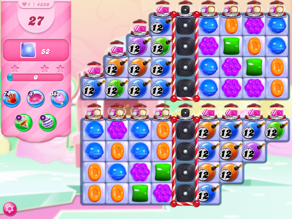 Candy Crush Saga level 4280
