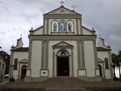 Facciata della chiesa dedicata a San Marco