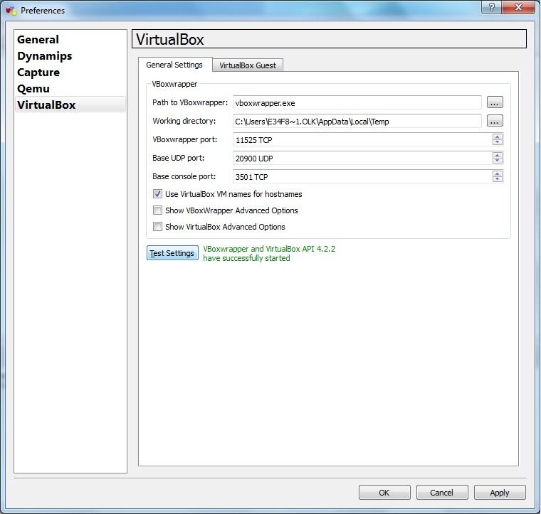 Добавление VirtualBox в GNS3 (VirtualBox in GNS3) ~ NetSkills