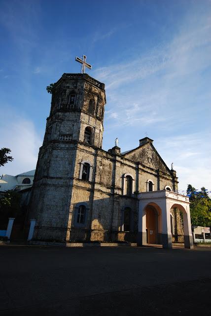 Old church of Baybay, Leyte