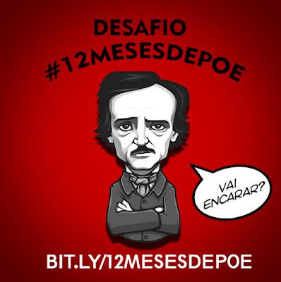 Desafio-literário, #12MESESDEPOE, EdgarAlanpoe, contos