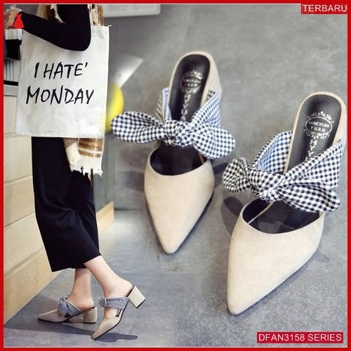 DFAN3158S159 Sepatu Tm 01 Hak Wanita Tahu Sol BMGShop