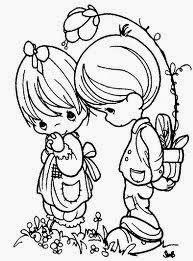 Dibujos Romanticos Para Colorear Dibujos De Amor Bonitos