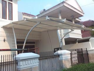 tenda membrane depok untuk garasi rumah
