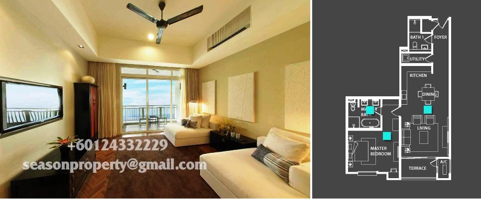 Quayside Condominium Type 1137sf Ss S Property Penang