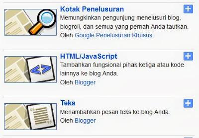Cara memasang widget Alexa Rank di Blogspot