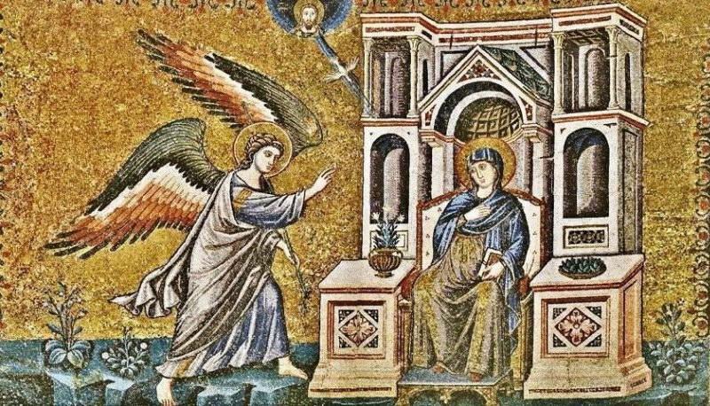 Ευαγγελισμός της Θεοτόκου, η αναδημιουργία του κόσμου
