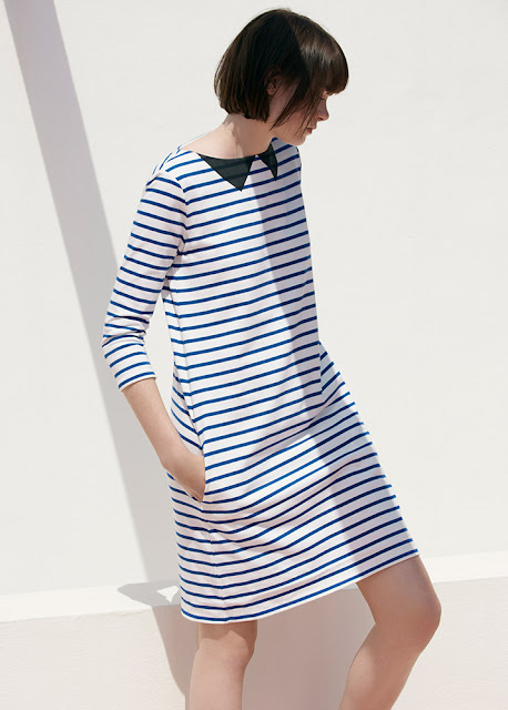 Petit Bateau women's striped jersey dress - womenswear sale
