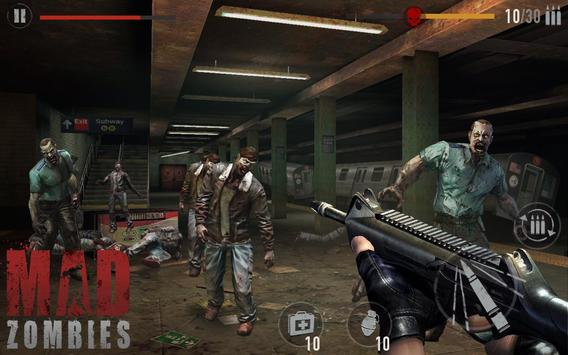 Download Game MAD ZOMBIES Mod Money, Shopping cho Android