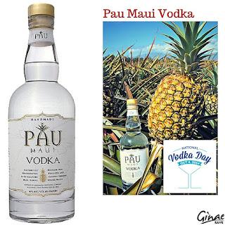 Pau Maui Vodka for National Vodka Day, 2015