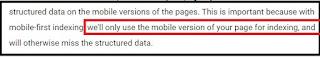 Cara Mengetahui Blog Sudah Mobile First Indexing atau Belum