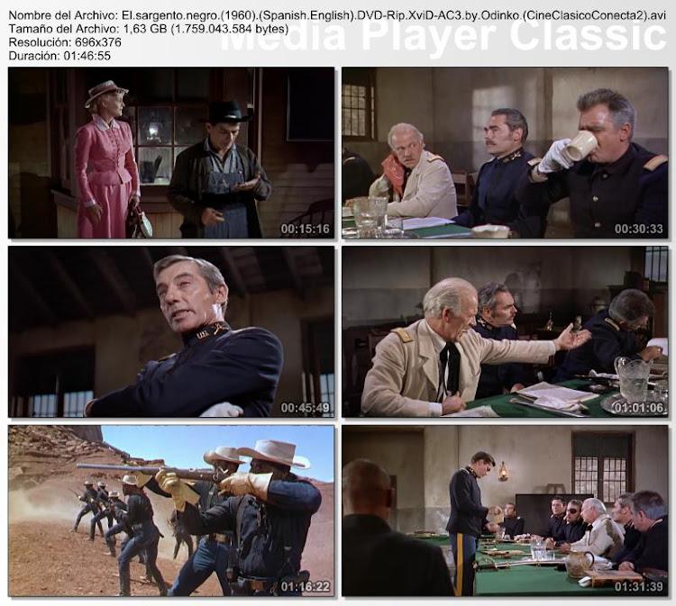 El Sargento Negro | 1960 | John Ford's Sergeant Rutledge | Secuencias de la película