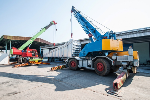 Cranes for Constructional Sectors