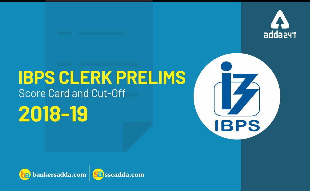 ibps-clerk-prelims-score-card-2018-19