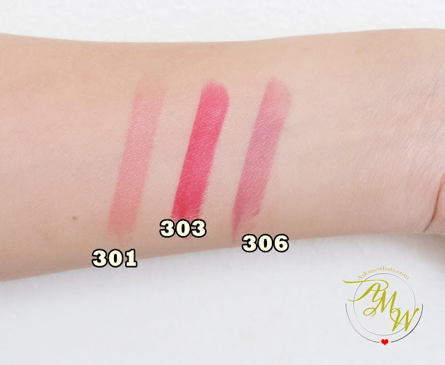 a photo of Inglot LipSatin Lipsticks Review