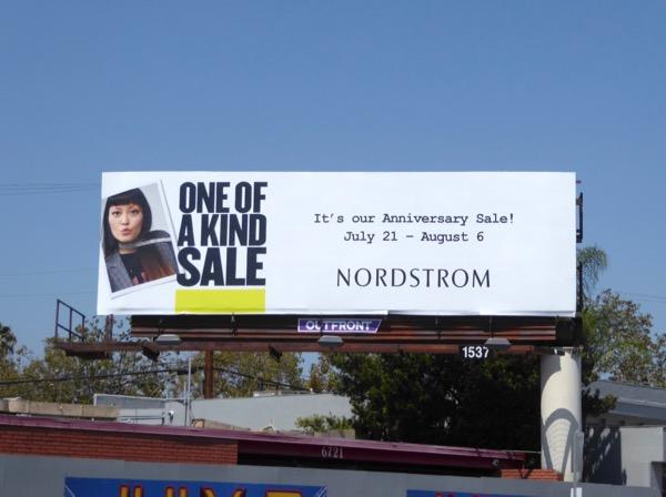 Hana Mae Lee Nordstrom anniversary sale billboard