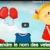 Apprendre le nom des vetements (français)