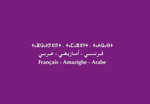 معجم مدرسي فرنسي أمازيغي عربي [PDF]