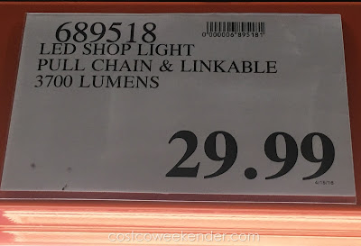Deal for the Feit Electric LED Shop Light at Costco