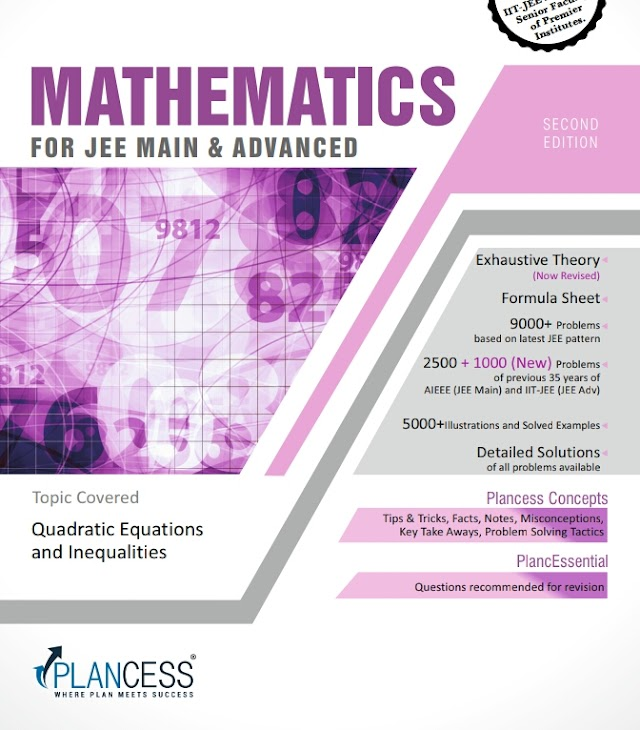 QUADRATIC EQUATIONS AND INEQUALITIES NOTE BY PLANCESS