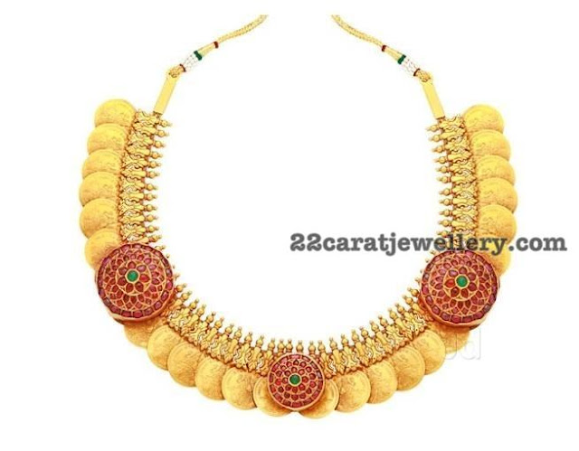 Kasu Necklace by RM Jewellers