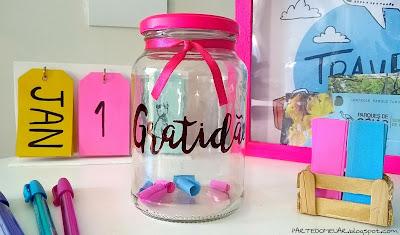ideias com potes de vidro