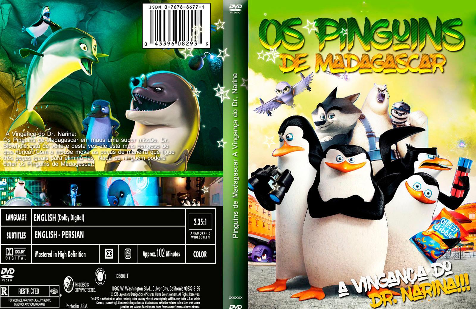 Baixar Os Pingüins De Madagascar A Vingança Do Dr Narina DVDRip XviD Dublado